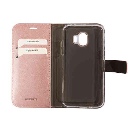 Mobiparts Saffiano Wallet Case Samsung Galaxy J2 Pro (2018) Pink