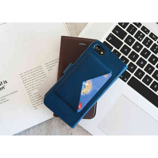 Mobiparts Classic Wallet Case Huawei P20 Lite Blue