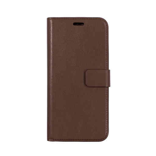 Mobiparts Classic Wallet Case Huawei P20 Lite Brown