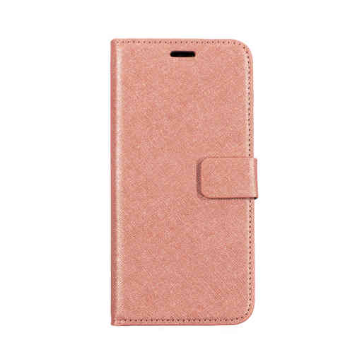 Mobiparts Saffiano Wallet Case Huawei P20 Lite Pink