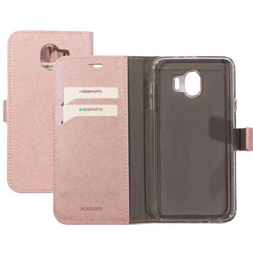 Mobiparts Saffiano Wallet Case Samsung Galaxy J4 (2018) Pink