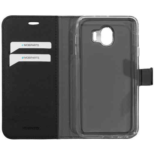 Mobiparts Saffiano Wallet Case Samsung Galaxy J4 (2018) Black