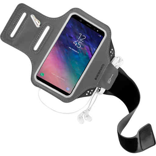 Mobiparts Comfort Fit Sport Armband Samsung Galaxy A6 (2018) Black