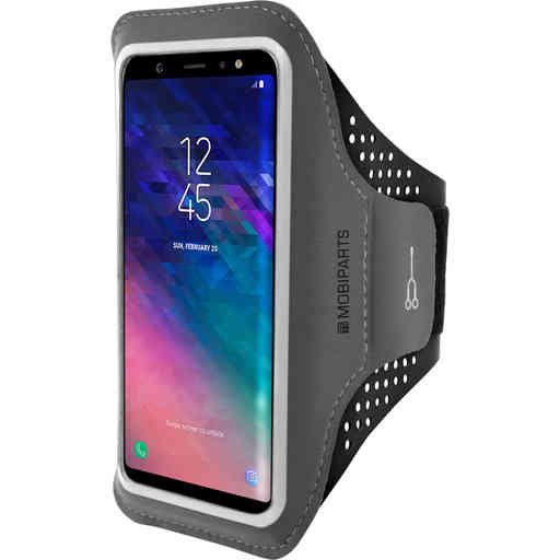 Mobiparts Comfort Fit Sport Armband Samsung Galaxy A6 Plus (2018) Black