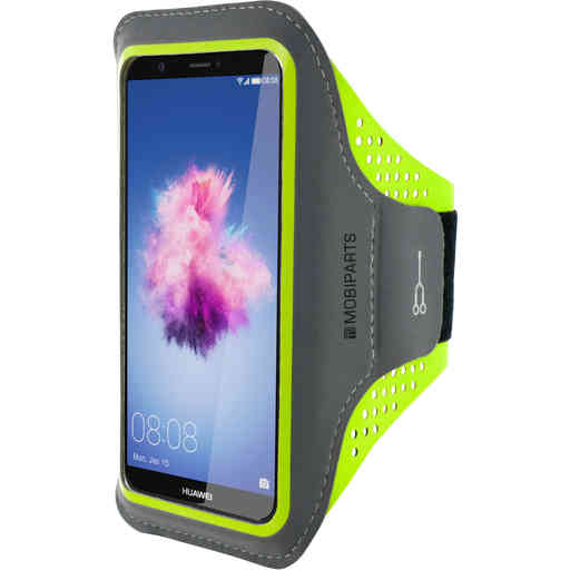 Mobiparts Comfort Fit Sport Armband Huawei P Smart Neon Green