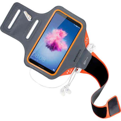 Mobiparts Comfort Fit Sport Armband Huawei P Smart Neon Orange