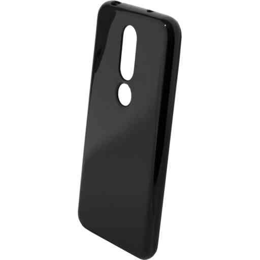 Mobiparts Classic TPU Case Nokia 6.1 Plus (2018) Black