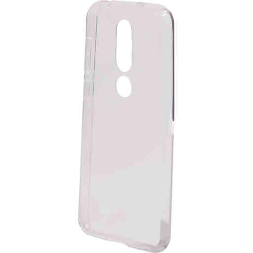 Mobiparts Classic TPU Case Nokia 6.1 Plus (2018) Transparent