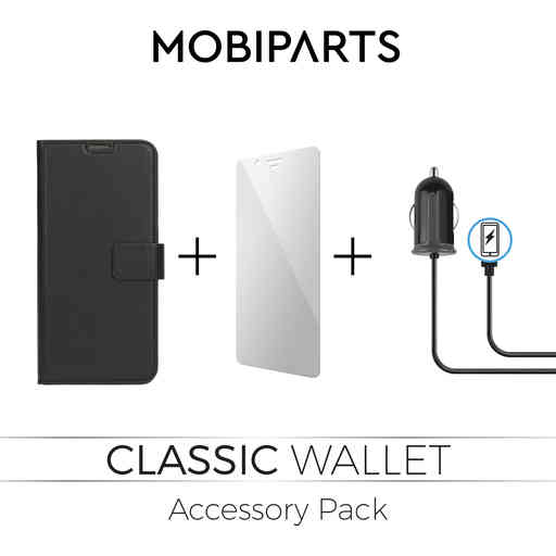 Mobiparts Classic Wallet Accessory Pack V3 Samsung Galaxy A6 Plus (2018)