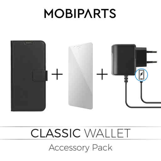 Mobiparts Classic Wallet Accessory Pack V4 Samsung Galaxy A6 (2018)