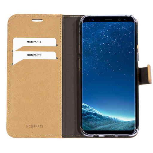 Mobiparts Saffiano Wallet Case Samsung Galaxy S8 Gold