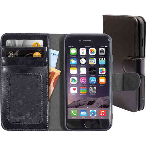 Mobiparts Excellent Wallet Case 2.0 Apple iPhone 6/6S Jade Black