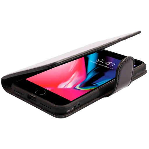 Mobiparts Excellent Wallet Case 2.0 Apple iPhone 7/8/SE (2020) Jade Black