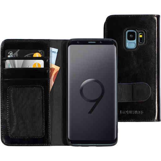 Mobiparts Excellent Wallet Case 2.0 Samsung Galaxy S9 Jade Black