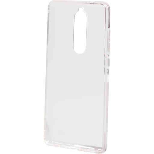Mobiparts Classic TPU Case Nokia 5.1 (2018) Transparant