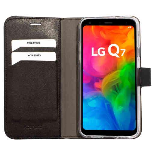 Mobiparts Classic Wallet Case LG Q7 Black