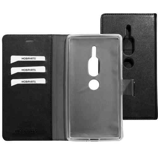 Mobiparts Classic Wallet Case Sony Xperia XZ2 Premium Black