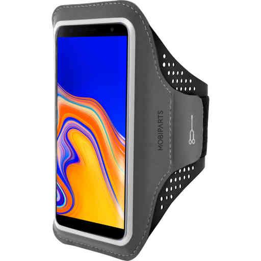 Mobiparts Comfort Fit Sport Armband Samsung Galaxy J4 Plus (2018) Black