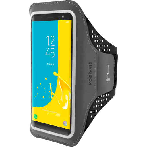 Mobiparts Comfort Fit Sport Armband Samsung Galaxy J6 (2018) Black