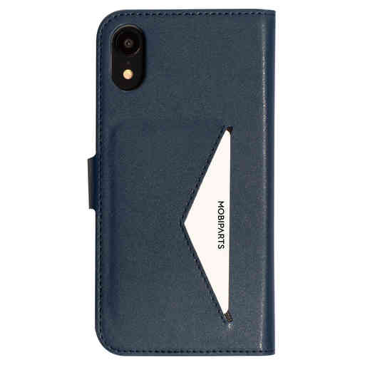 Mobiparts Classic Wallet Case Apple iPhone XR Blue