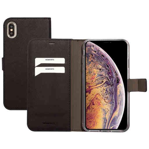 Mobiparts Saffiano Wallet Case Apple iPhone XS Max Black