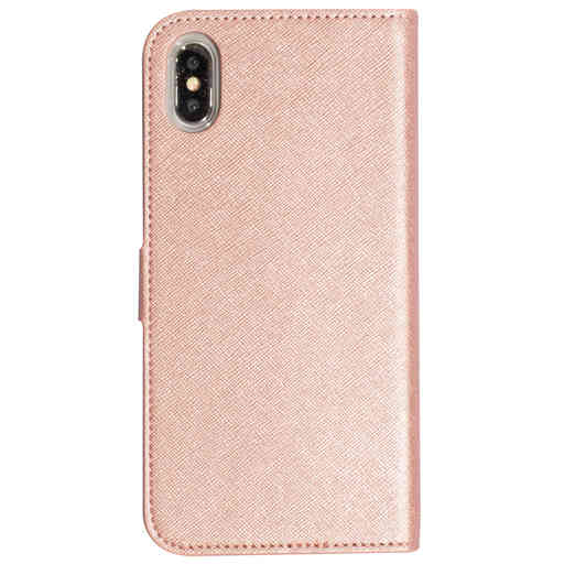 Mobiparts Saffiano Wallet Case Apple iPhone XS Max Pink