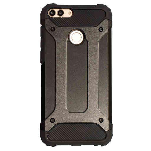Mobiparts Rugged Shield Case Huawei P Smart (2018) Black
