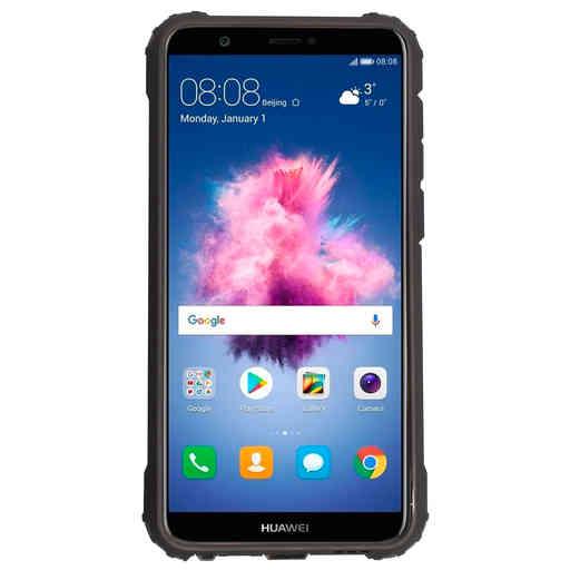 Mobiparts Rugged Shield Case Huawei P Smart (2018) Black
