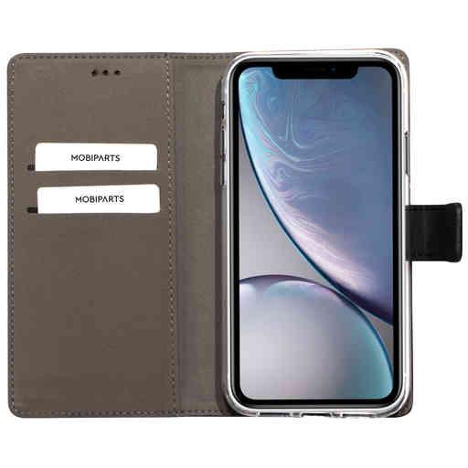Mobiparts Premium Wallet TPU Case Apple iPhone XR Black