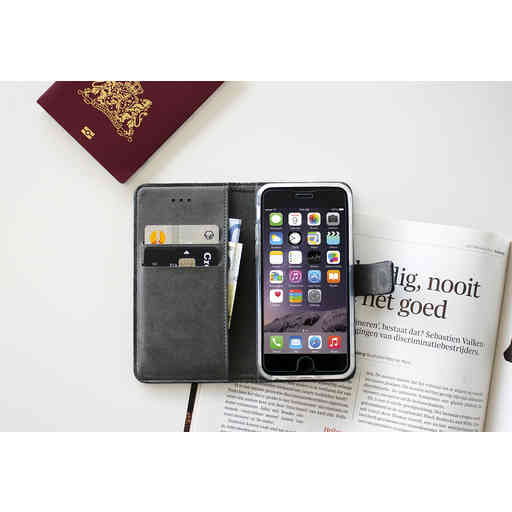 Mobiparts Premium Wallet TPU Case Apple iPhone XS Max Black