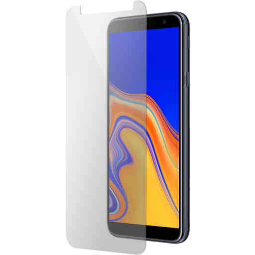 Mobiparts Regular Tempered Glass Samsung Galaxy J4 Plus (2018)