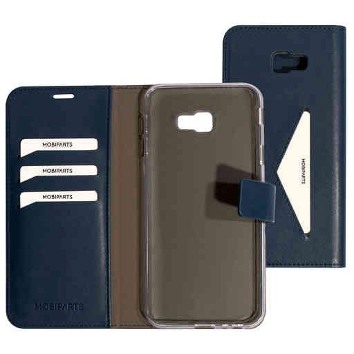 Mobiparts Classic Wallet Case Samsung Galaxy J4 Plus (2018) Blue