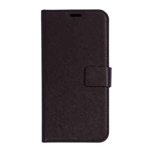 Mobiparts Saffiano Wallet Case Samsung Galaxy J4 Plus (2018) Black