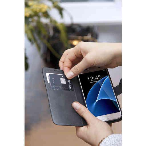 Mobiparts Premium Wallet TPU Case Samsung Galaxy A7 (2018) Black