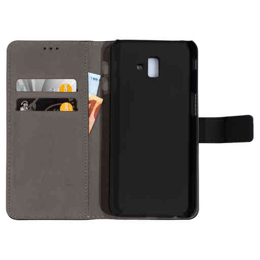 Mobiparts 2 in 1 Premium Wallet Case Samsung Galaxy J6 Plus (2018) Black
