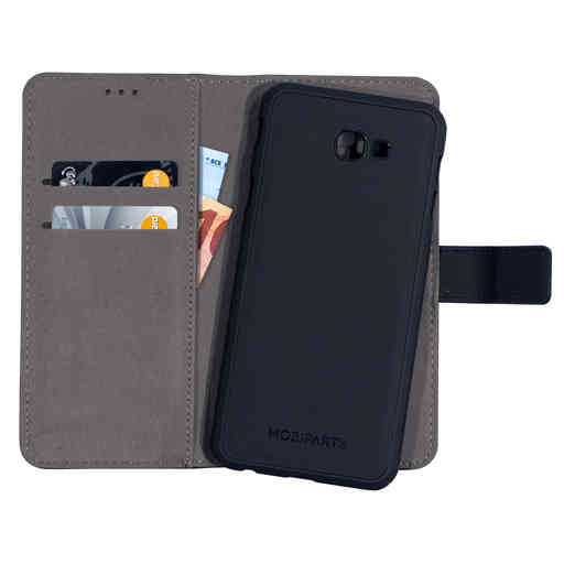 Mobiparts 2 in 1 Premium Wallet Case Samsung Galaxy J4 Plus (2018) Black