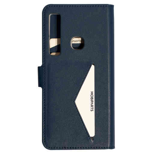 Mobiparts Classic Wallet Case Samsung Galaxy A9 (2018) Blue