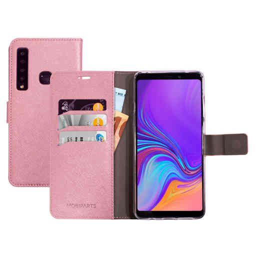 Mobiparts Saffiano Wallet Case Samsung Galaxy A9 (2018) Pink
