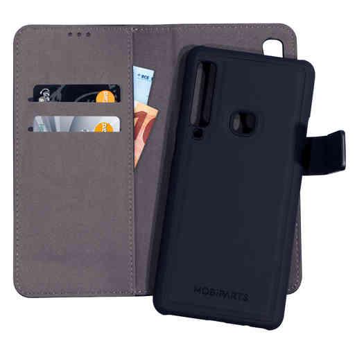 Mobiparts 2 in 1 Premium Wallet Case Samsung Galaxy A9 (2018) Black