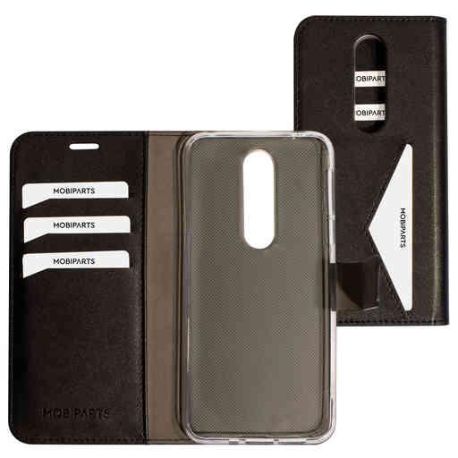 Mobiparts Classic Wallet Case Nokia 7.1 Black