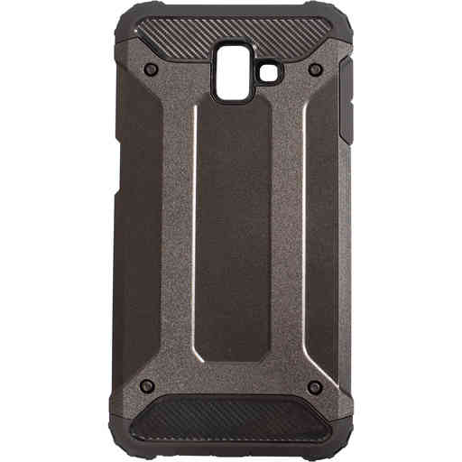 Mobiparts Rugged Shield Case Samsung Galaxy J6 Plus (2018) Black