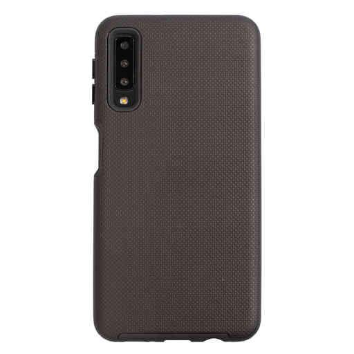 Mobiparts Rugged Tough Grip Case Samsung Galaxy A7 (2018) Black