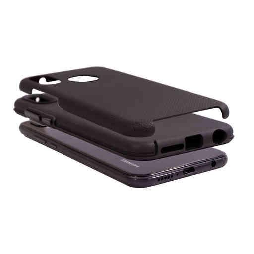 Mobiparts Rugged Tough Grip Case Huawei P20 Lite Black