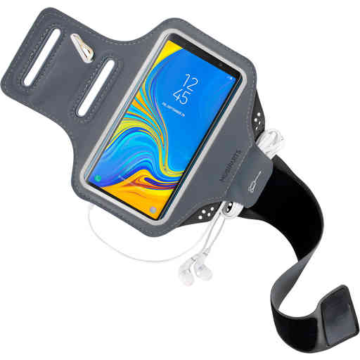 Mobiparts Comfort Fit Sport Armband Samsung Galaxy A7 (2018) Black