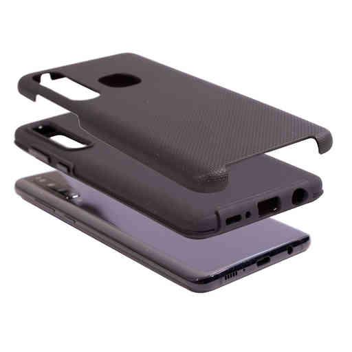 Mobiparts Rugged Tough Grip Case Samsung Galaxy A9 (2018) Black