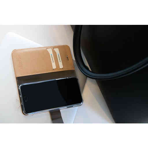 Mobiparts Saffiano Wallet Case Apple iPhone 7/8/SE (2020) Copper