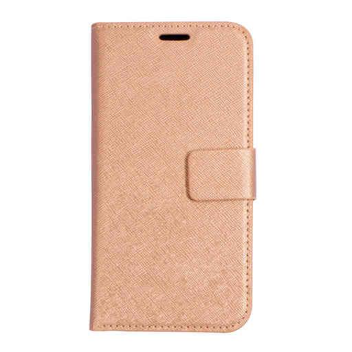 Mobiparts Saffiano Wallet Case Apple iPhone X/XS Copper