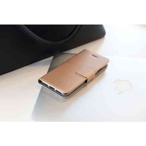 Mobiparts Saffiano Wallet Case Apple iPhone XR Copper