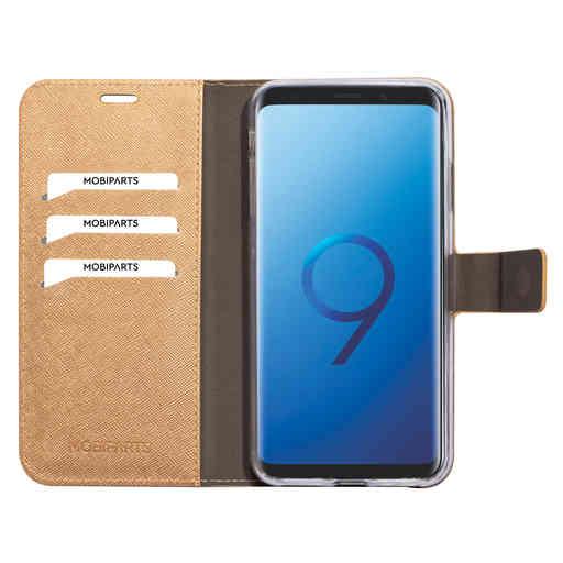 Mobiparts Saffiano Wallet Case Apple iPhone XS Max Copper
