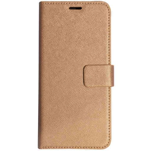 Mobiparts Saffiano Wallet Case Samsung Galaxy A6 Plus (2018) Copper